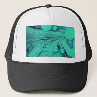 NEON BUBBLES TRUCKER HAT