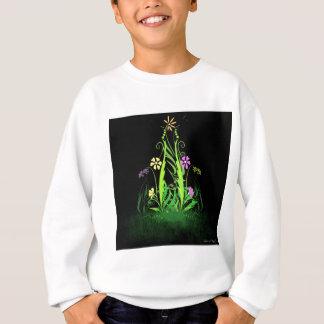 Neon Butterflies and Daisies Sweatshirt