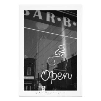"Neon Caffeine || Decorative Print (13"" x 19"")"