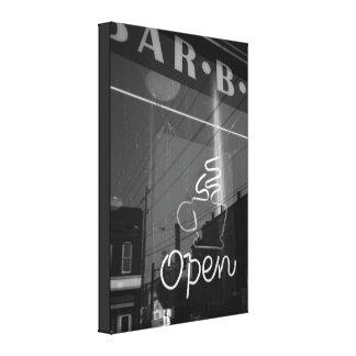 'Neon Caffeine' || Wrapped Canvas (16 x 24)