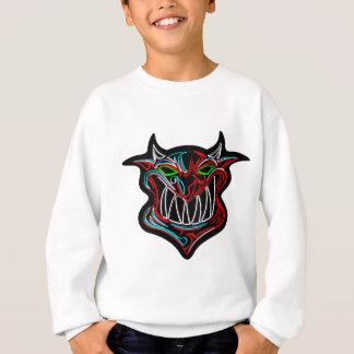 Neon Cartoon Devil Sweatshirt