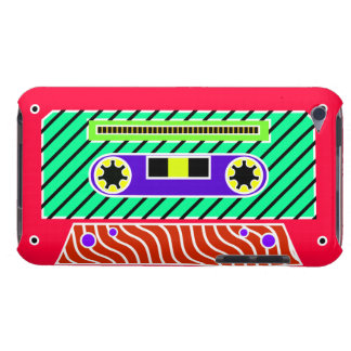 Neon Cassette Tape 2 Barely There iPod Covers
