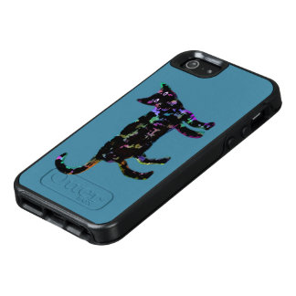 Neon Cat OtterBox iPhone 5/5s/SE Case