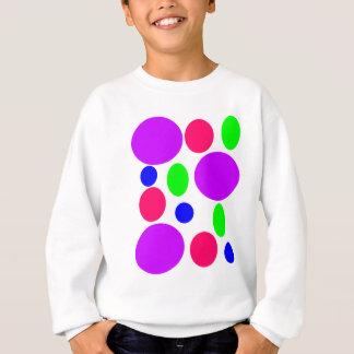 Neon Circles Design Sweatshirt
