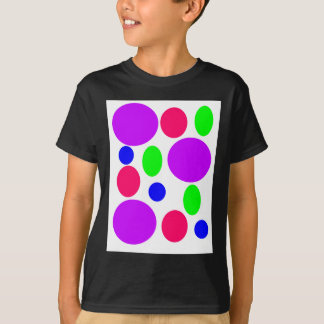 Neon Circles Design T-Shirt