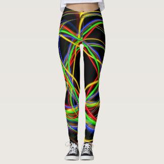 Neon Circles Leggings