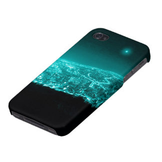 Neon City Lights iPhone 4/4S Covers