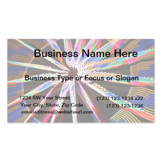 neon colors fair ride image neat abstract design business card templates