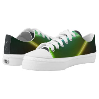 Neon Colors Lights Shoes with your Initials Printed Shoes