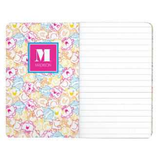 Neon Colors Pattern | Add Your Name Journal