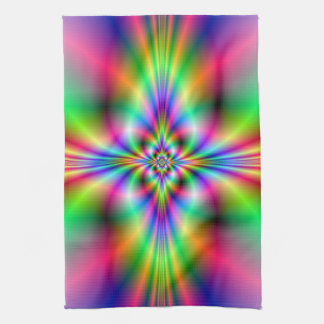 Neon Cross Kitchen Towels