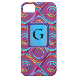 Neon Cubism iPhone 5 Case