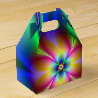 Neon Daisy Favour Box