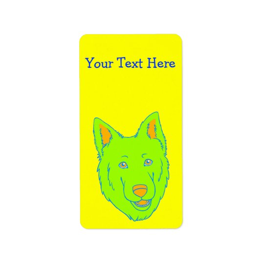 Neon Dog Label
