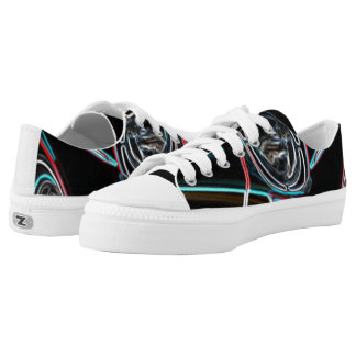 Neon Effect Driving the Classics - Low Tops