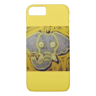 Neon Elephant iPhone 8/7 Case
