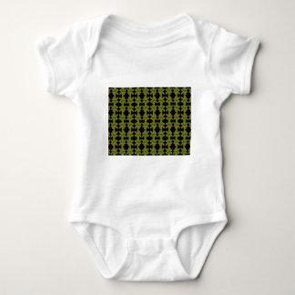 Neon flower design baby bodysuit