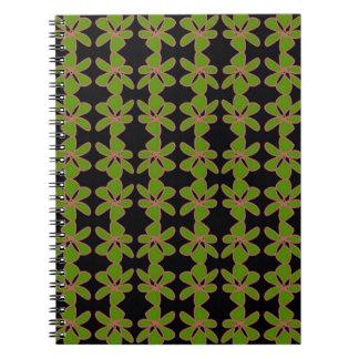 Neon Flower design Notebook