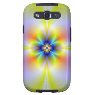 Neon Flower Galaxy S Galaxy S3 Covers
