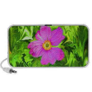 neon flower speaker mp3 speakers