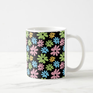 Neon Flowers Coffee Mugs