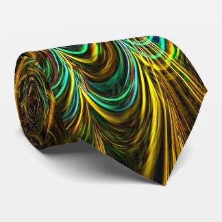 Neon Fractal 5 Tie