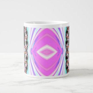 Neon Fractal Jumbo Mug
