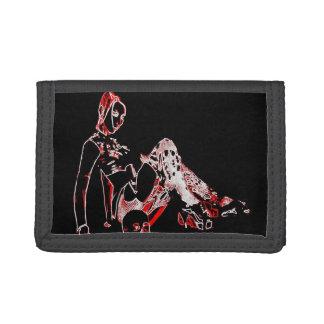 Neon Gothic Girl wallet