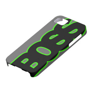 Neon Green BOSS iPhone 5 Cases