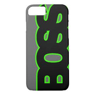 Neon Green BOSS iPhone 7 Case
