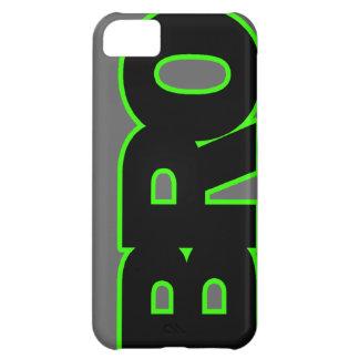 Neon Green BRO iPhone 5C Case