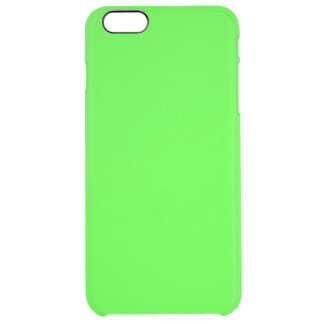 Neon Green Clear iPhone 6 Plus Case