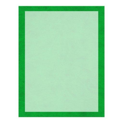Neon Green Color Velvet Custom Home Casino Flyer Design