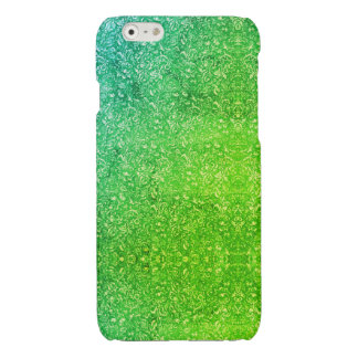Neon Green Floral Bright Colourful Vitality