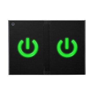 Neon Green Flourescent Power Button Cover For iPad Mini