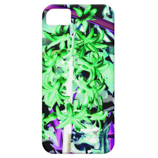 Neon Green Hyacinth iPhone 5 Case