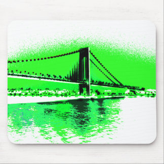 Neon Green Narrows mousepad