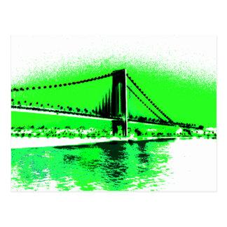 Neon Green Narrows postcard