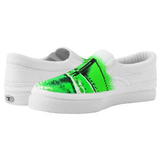 Neon Green Narrows Z slipons Slip On Shoes