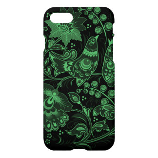 Neon Green Nature Pattern iPhone 7 Case