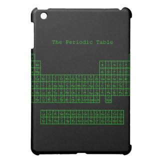 Neon Green Periodic Table Cover For The iPad Mini