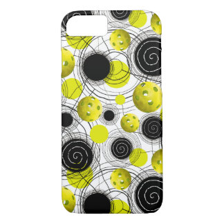 Neon green  Pickleballs iPhone 8/7 Case