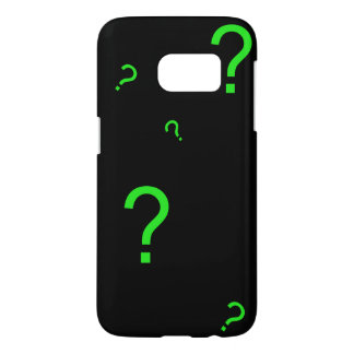 Neon Green Question Mark