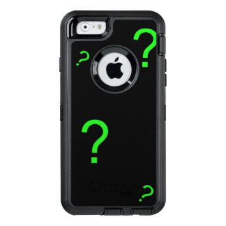 Neon Green Question Mark OtterBox iPhone 6/6s Case