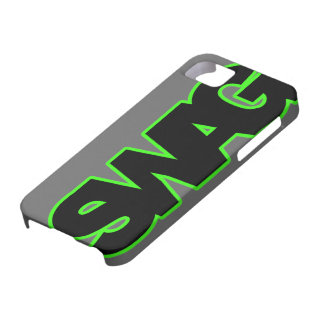 Neon Green SWAG iPhone 5 Cases
