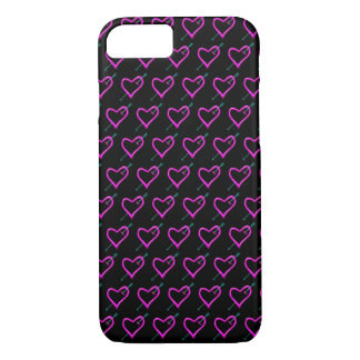 Neon Heart iPhone 8/7 Case