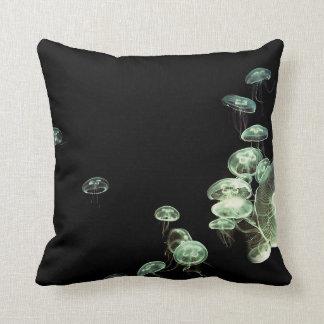 Neon Jellyfish Cushion