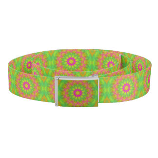 Neon Kaleidoscope Belt