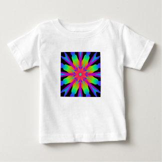 Neon Kaleidoscope Flower Infant T-Shirt