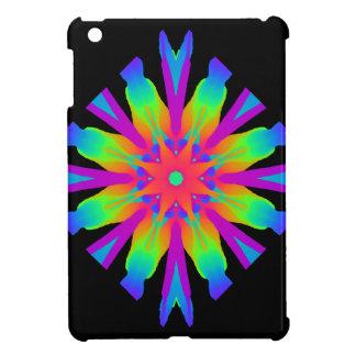 Neon Kaleidoscope Flower Ipad Mini Case / Cover